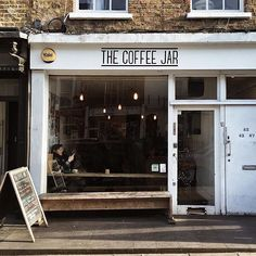 The Coffee Jar cafe in Camden . Photo by @ajfernando