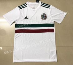 1dc3dcda3 2018 World Cup Mexico Away White Thailand Soccer Jersey AAA