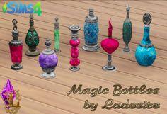 Magic potion bottles the sims 4 packs, sims medieval, sims 4 clutter, my The Sims 4 Packs, The Sims 2, Sims 4 Mm Cc, Sims 4 Mods, Sims 4 Stories, Sims Pets, Sims Medieval, Magic Bottles, Sims 4 Clutter