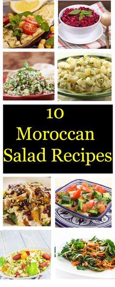 Top 10 Moroccan Salad Recipes