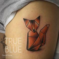 Geo Fox by Stefan Draak Professional Tattoo, Tattoo Studio, Drake, Geo, Tattoos, Blue, Tatuajes, Tattoo, Tattos