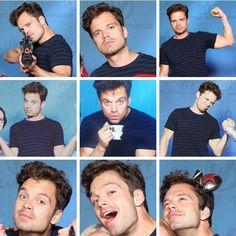 He's such a dork // Sebastian Stan