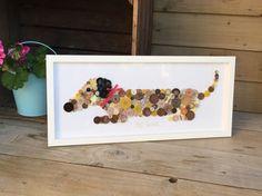 Handmade 'Silly Sausage' daschund button picture in Collectables, Animals, Dogs | eBay!