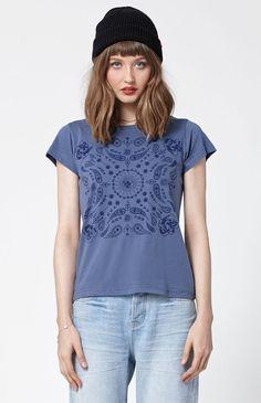 Paisley Short Sleeve T-Shirt