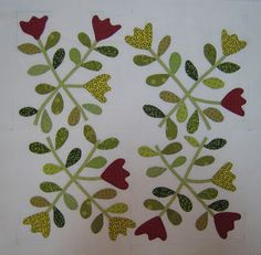 I know you all must think all I do is applique and for the most part you are right. This is my block three. Those dreaded fingers. Happy New Year Everyone, Tree Quilt, Cherry Tree, Applique Quilts, Quilt Tutorials, Needle And Thread, Easy Peasy, Fun Projects, 9 And 10