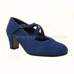 Zapato semiprofesional de flamenco cruzado en piel de ante / Semi professional cross straps suede flamenco shoes    https://www.tamaraflamenco.com/es/zapatos-de-ensayo-semiprofesionales-8