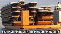 So this is how ships get shipped!
