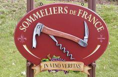 Sommeliers de France Sign / Danthonia Designs