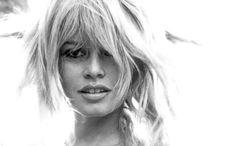 French actress and model Brigitte Bardot. Photograph by Bert Stern.