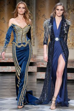 Spring Summer 2010 Zuhair Murad military inspired couture collection