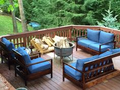 Furniture For The Deck Do It Yourself Home Projects From Ana White
