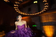 Indian Reception Bride in Purple Dress by onelove photography – 2