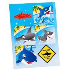 Sharks - Sticker Sheets, 78247