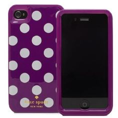 Thanks to Ms. Kelly Barna I have a KATE SPADE phone  case <3<3<3<3<3<3