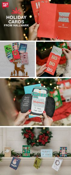 Forgot someone on your list? Need a quick card for the neighbor? Stop in store to choose from a variety of Hallmark boxed sets, gift card holders and more!