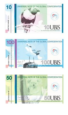 Graphic Design Class Assignment Inspiration: Universal Currency by D. Grant, via Behance