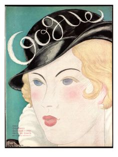 Vogue Cover - October 1931 by Georges Lepape