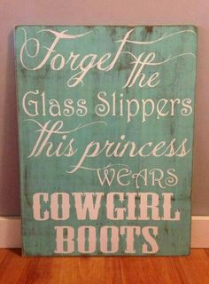 Cowgirl decorating