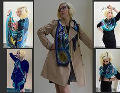 """Check out new work on my @Behance portfolio: """"Silk Scarf Collection 'Ancient Greece'"""" http://be.net/gallery/41209001/Silk-Scarf-Collection-Ancient-Greece"""