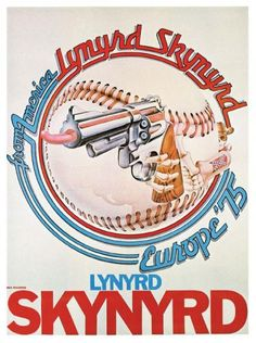 Lynyrd Skynyrd Rock And Roll Bands, Rock N Roll Music, Rock Bands, Tour Posters, Band Posters, Lynard Skynard, Vintage Concert Posters, Rock Concert, Best Rock
