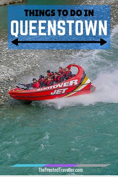 Ride the Shotover Jet - Things to Do in Queenstown - The Trusted Traveller Cool Places To Visit, Places To Travel, Travel Destinations, Holiday Destinations, North Island New Zealand, South Island, Best Wineries In Napa, Sky Resort, Stuff To Do