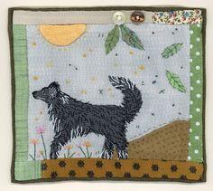 Shaggy Dog Story. Wool dog. Idea from Sharon Blackman