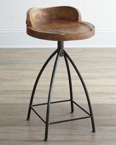 Arteriors Wooden Barstools