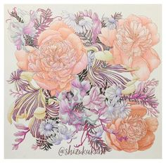 Prismacolor, Tropical Flowers, Foto E Video, Coloring Pages, Rooster, Twitter, Painting, Animals, Beautiful
