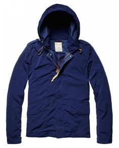 Lightweight parka - Jackets - Official Scotch & Soda Online Fashion & Apparel Shops