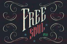 Free Soul font by douglas-vtks on Creative Market