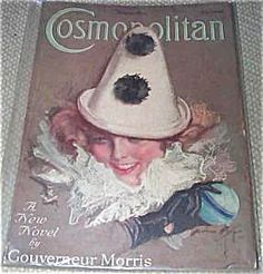 $70 COMPLETE vintage ISSUE OF COSMOPOLITAN MAGAZINE FOR 11/1923. COVER BY HARRISON FISHER.