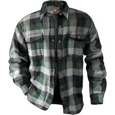 Fleece-lined Flannel Shirt Jac is built for real work: a thick, warm jacket that's easy to throw off when the action heats up. Only at Duluth Trading!