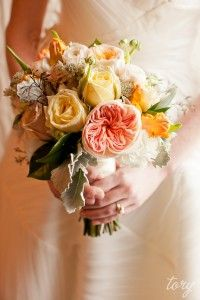 Gorgeous bouquet by http://quatrecoeur.com. Photos by Tory Williams.