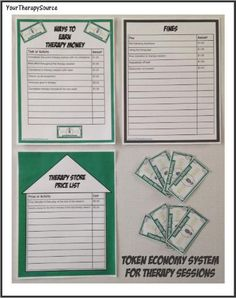 Token Economy System for Pediatric OT, PT and Speech - Your Therapy Source Behavior System, Reward System, Pediatric Occupational Therapy, Pediatric Ot, Speech Language Pathology, Speech And Language, Token Economy, Classroom Economy, Applied Behavior Analysis