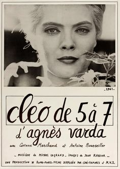 CLEO DE 5 A 7 aka CLEO FROM 5 TO 7 (Dir. Agnès Varda, 1962) | Discreet Charms & Obscure Objects