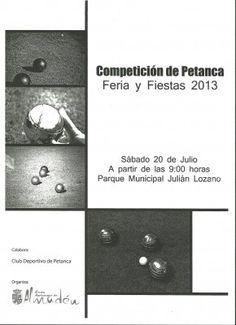 Concurso Petanca