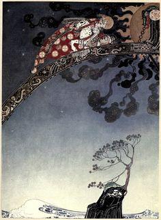 Scandinavian Fairy Tale - Above the Tree