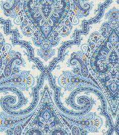 Home Decor 8''x 8'' Swatch- Waverly Anatalya/Aegean: Home Decor Memo Swatches: home decor fabric: fabric: Shop   Joann.com