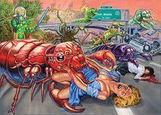 Mars Attacks Invasion | Ed Repka – Mars Attacks: Invasion Card Series