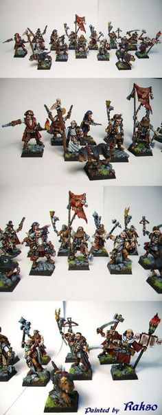 Full Mordheim Witch Hunters Warband