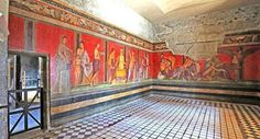 Villa of the Mysteries, now accessible again after two years of restoration. II Century B. Fresco, Man Cave Paintings, Renaissance, Ancient Artefacts, Pompeii And Herculaneum, Villa, Imperial Palace, History Images, Dutch Painters