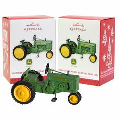 John Deere Hallmark Keepsake Ornament 2013 Model 60 Pedal Tractor
