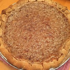A simple and delicious pie made from sugar and cream, accented with just the right amount of nutmeg and vanilla. Pennsylvania Dutch Recipes, Pastry Shells, Sugar Pie, Recipe Directions, Cream Pie, Cream Recipes, Sweet Desserts, Original Recipe, Cooking Time