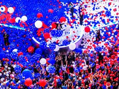Remember all those balloons last night
