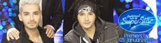 Tokio Hotel USA banner for first dsds show
