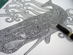 This artist has amazing detail in all her drawings. Definitely worth a look!