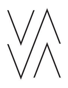 wood mcgrath | logo for photographer vava ribeiro