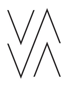 A logo for the New York based photographer Vava Ribeiro.