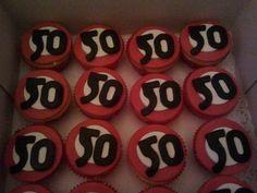 Cupcakes 50 jaar