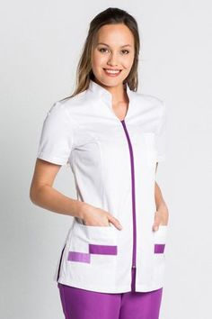 View all of our men's medical uniforms, jackets, tunics, nursing scrubs and medical shoes. Spa Uniform, Scrubs Uniform, Healthcare Uniforms, Medical Uniforms, Stylish Scrubs, Scrubs Outfit, Womens Scrubs, Uniform Design, Medical Scrubs